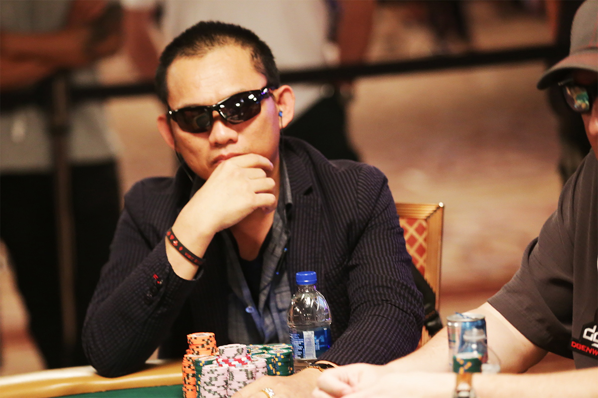 Christian Pham is the chip leader with 27 player still competing.