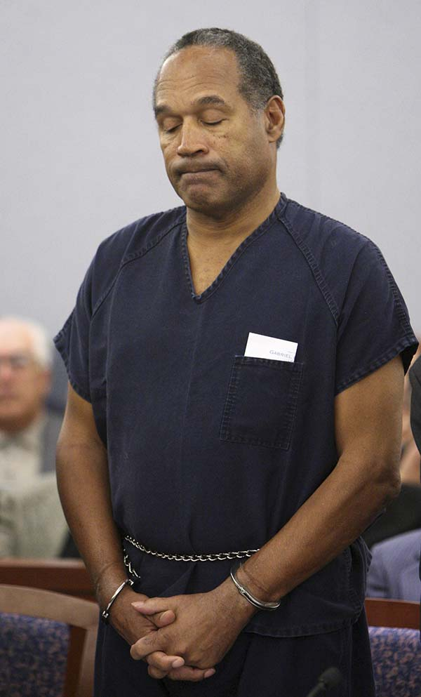 O.J. Simpson 2008 sentenced Nevada Las Vegas