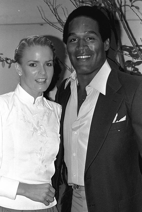 O.J. Simpson Nicole Brown wife
