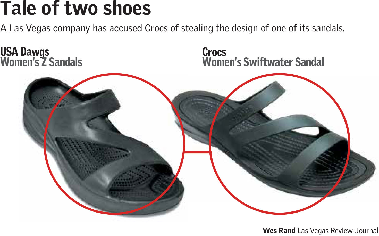 Tale of two shoes