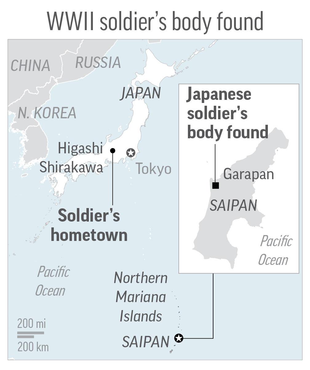 Japanese flag Returned (The Associated Press)