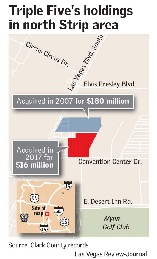 Major hotel envisioned near Las Vegas Convention Center