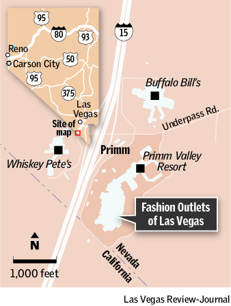 Outlet California Map.Primm S Fashion Outlets Of Las Vegas Faces Business And Financial