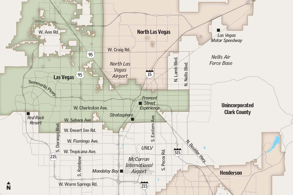Las Vegas City Council May Add Nearly 900 Acres To City