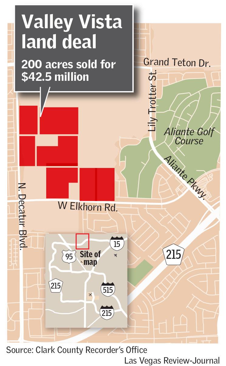 Valley Vista land deal