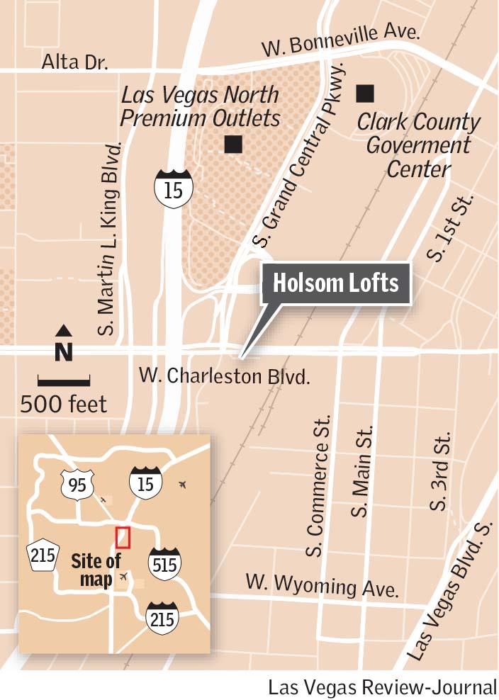 Holsom Lofts map