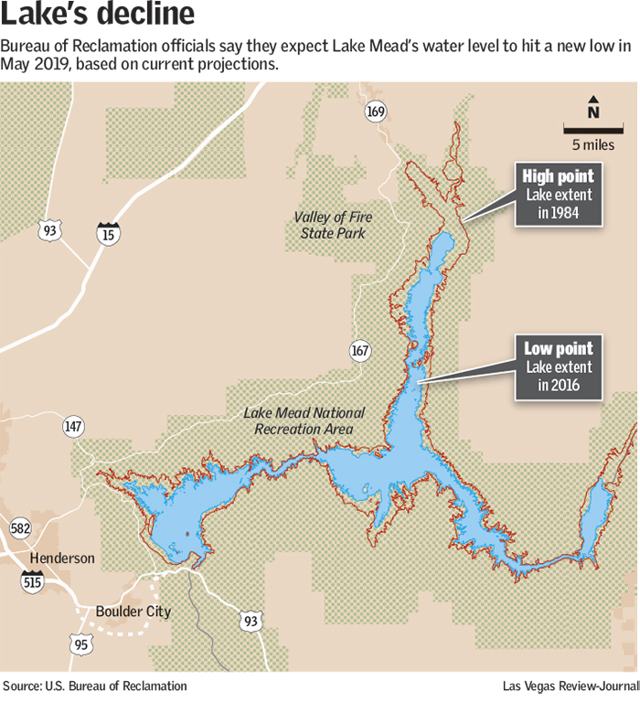 Worsening dry spell wont tip Lake Mead into shortage yet Las