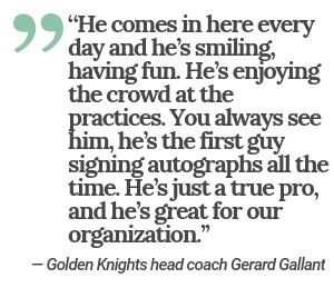 Gallant Quote (Las Vegas Review-Journal)