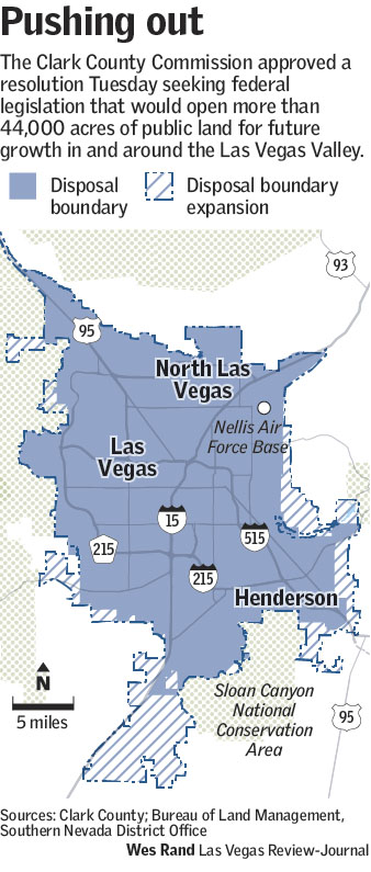 North Las Vegas Map Boundaries.Clark County Commission Oks Resolution To Open Public Land Las