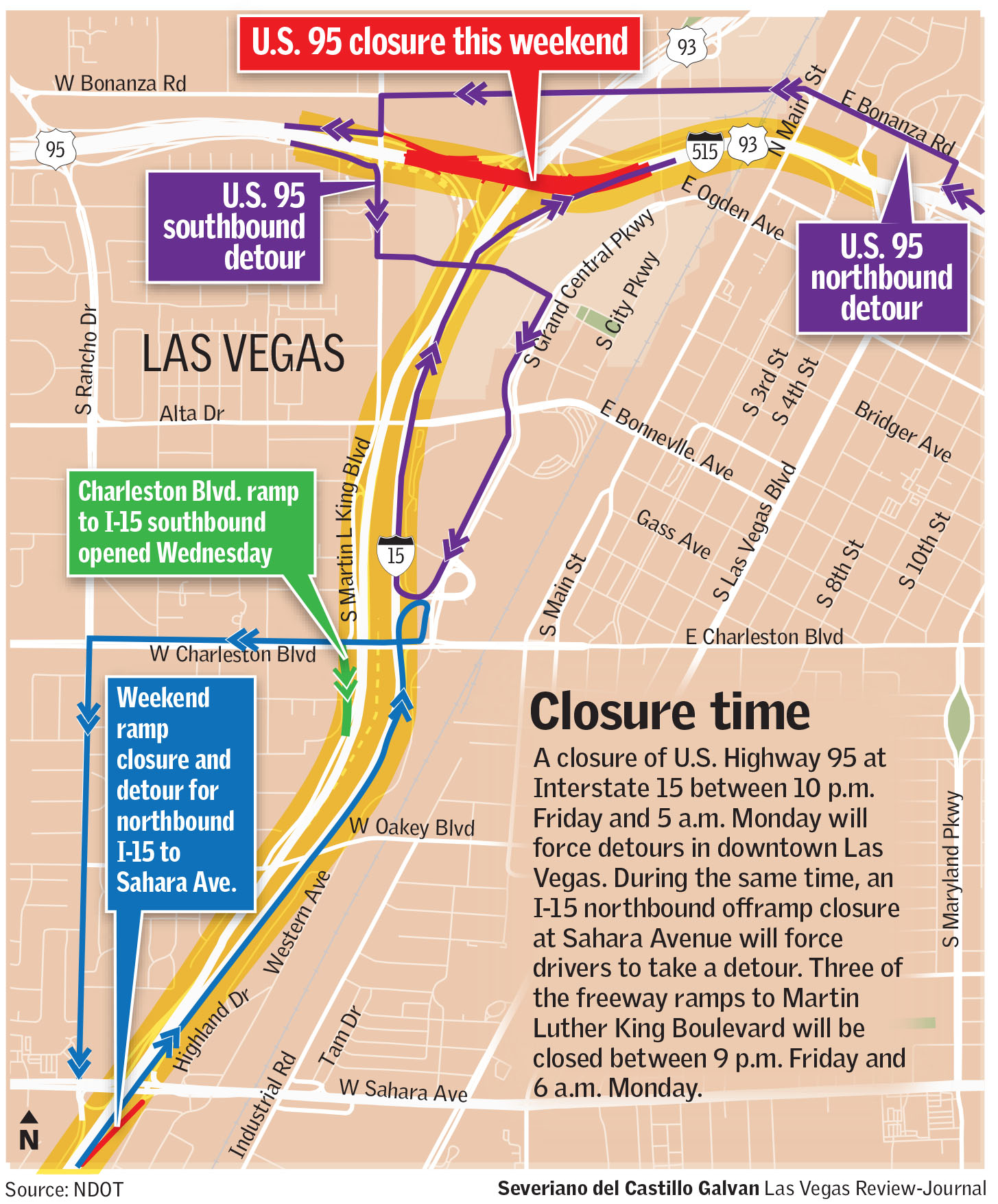 King 5 Traffic Map.Las Vegas Will Have Flurry Of Freeway Closures This Weekend Las