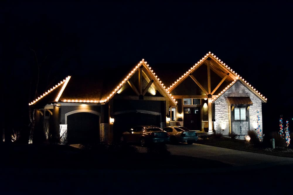 Holiday Lighting Clear Incandescent