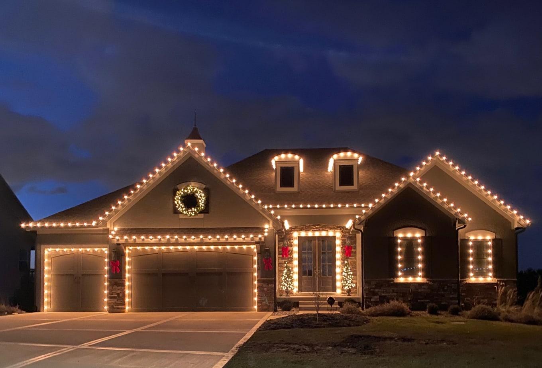 Holiday Lighting House