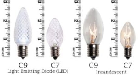 C7 or C9 Bulb Size
