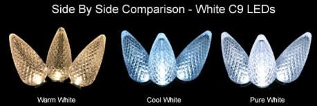 LED White Colors