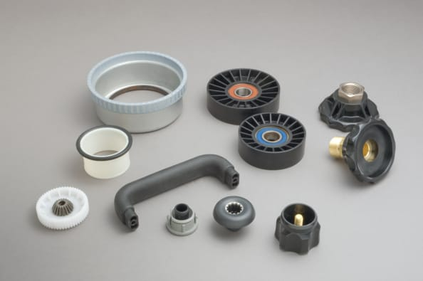 moulded plastic electronics components