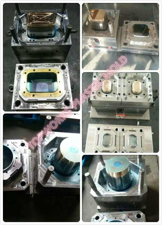 thin wall bucket mould