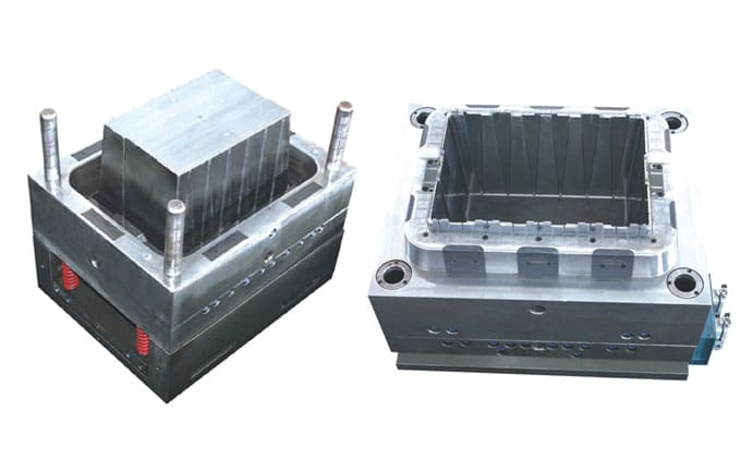 plastic crate mould making