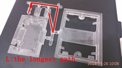 clamping tonnage VS shot weight,widget for injection molding