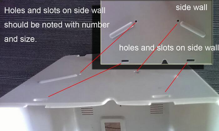 side wall hole