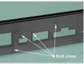 knit line