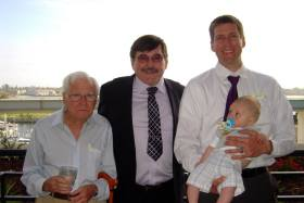 4 Generations of Bitner men