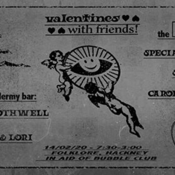 artsclub Valentines Ball w/ Special Guest [RA+RE] and Swoop [FR] at Folklore promotional image