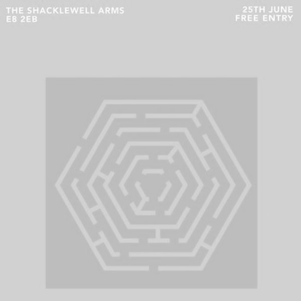 Clockwork W/ Hexmaze, Blue Bendy, Worst Place at Shacklewell Arms promotional image