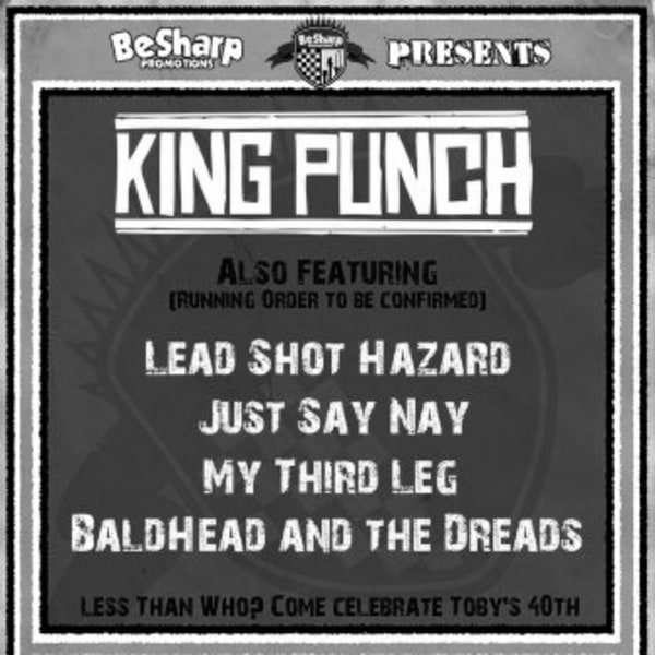 King Punch at New Cross Inn promotional image