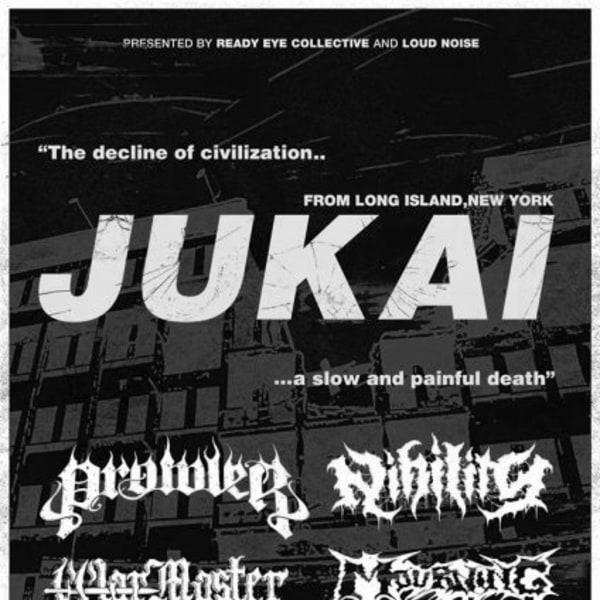 Jukai / Prowler / Nihility / War Master / Mourning at New Cross Inn promotional image