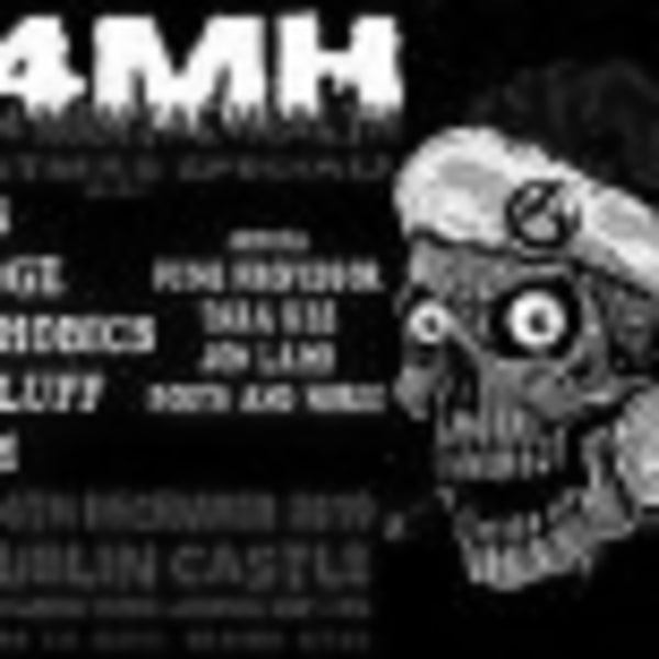 Punk 4 Mental Health+Xmas Party+Crisis+Damidge+The Phobics+Das Fluff+Tara Rez at Dublin Castle promotional image