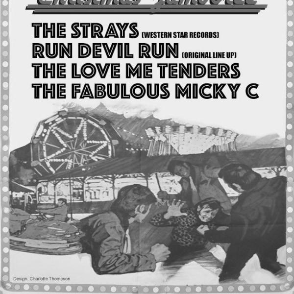 Run Devil Run(UK) Christmas Jamboree at The Fiddler's Elbow promotional image