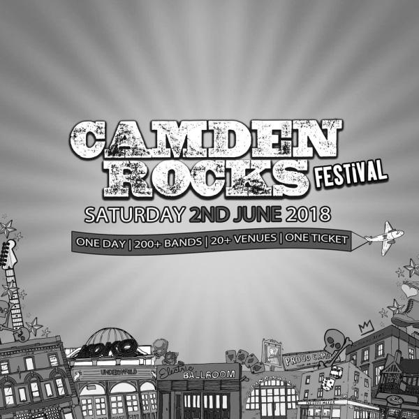 Camden Rocks Festival at The Fiddler's Elbow promotional image
