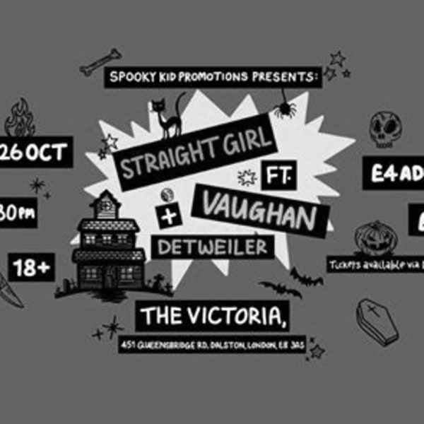 Spooky Kid Presents: Straight Girl // Vaughan // Detweiler at The Victoria promotional image