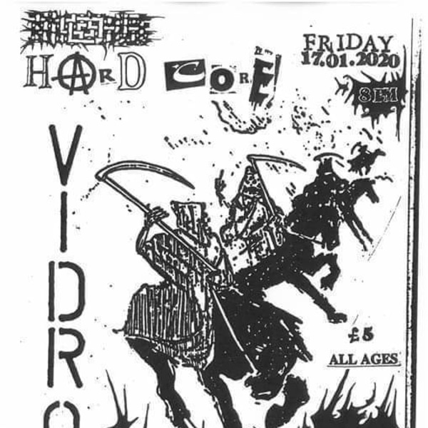 Vidro (SWE/BRA/USA)/Game/TropicalNightmare/Subdued/Sterilization at New River Studios promotional image