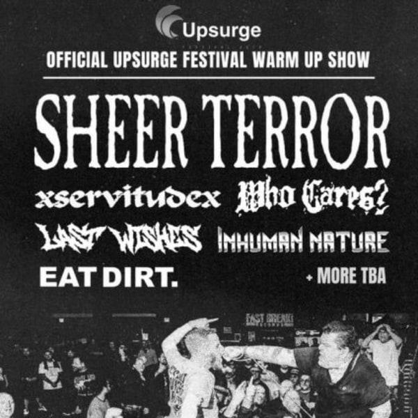 Sheer Terror at New Cross Inn promotional image
