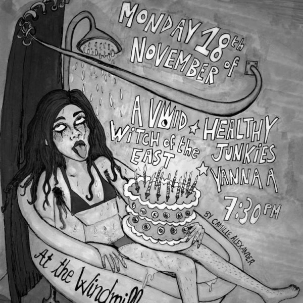 Healthy Junkies, A Void, Witch Of the East, Yanna A  at Windmill Brixton promotional image