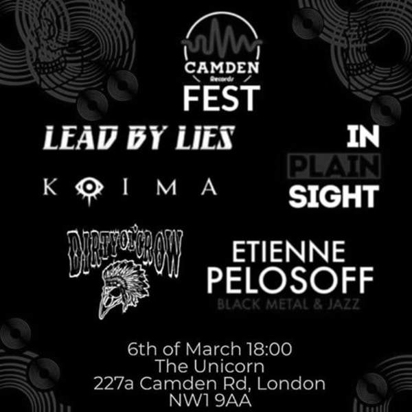 Camden Records Fest at The Unicorn promotional image
