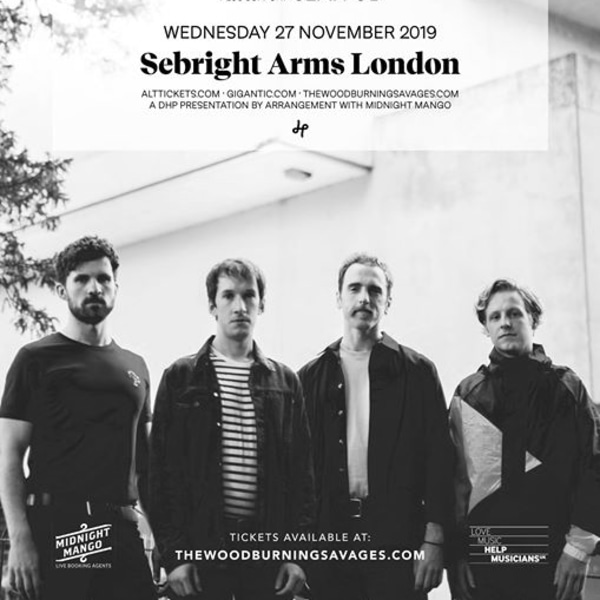 The Wood Burning Savages live at Sebright Arms, London at Sebright Arms promotional image