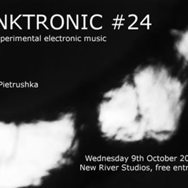 Skronktronic #24 at New River Studios promotional image