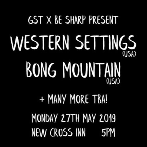 Western Settings / Bong Mountain at New Cross Inn promotional image