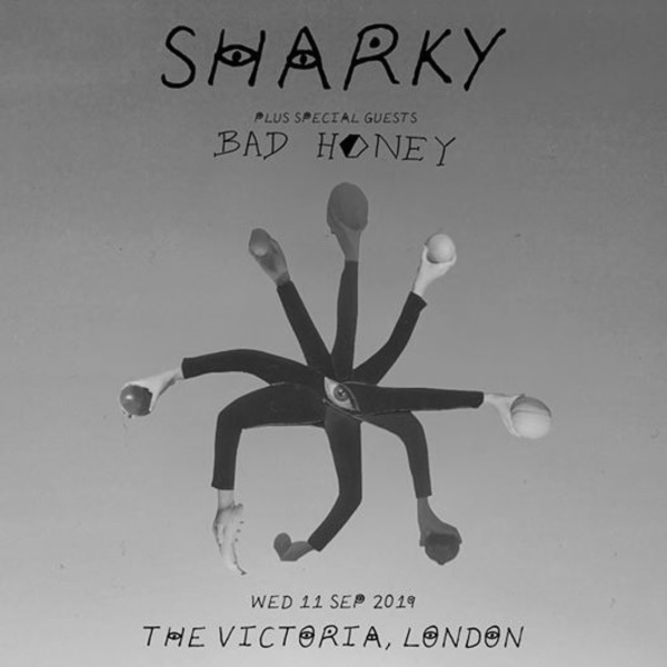 Sharky plus special guests Bad Honey at The Victoria promotional image