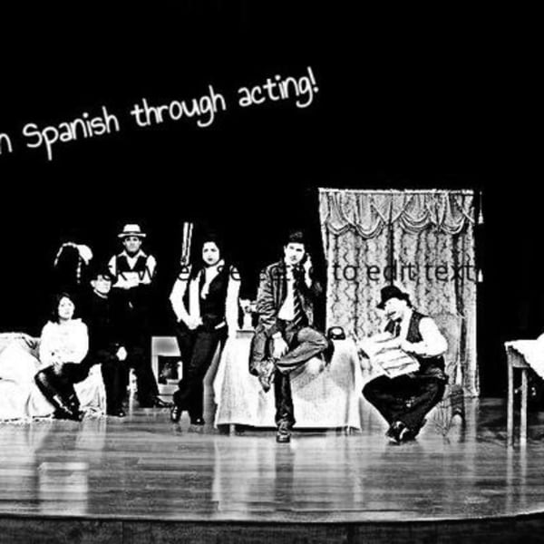 Learn Spanish through Acting  at The Fiddler's Elbow promotional image