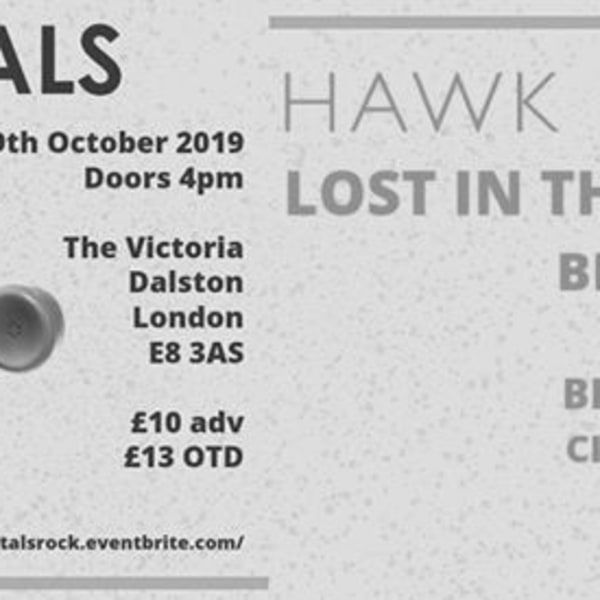 Portals All-Dayer: Hawk Eyes, Lost in the Riots & more at The Victoria promotional image