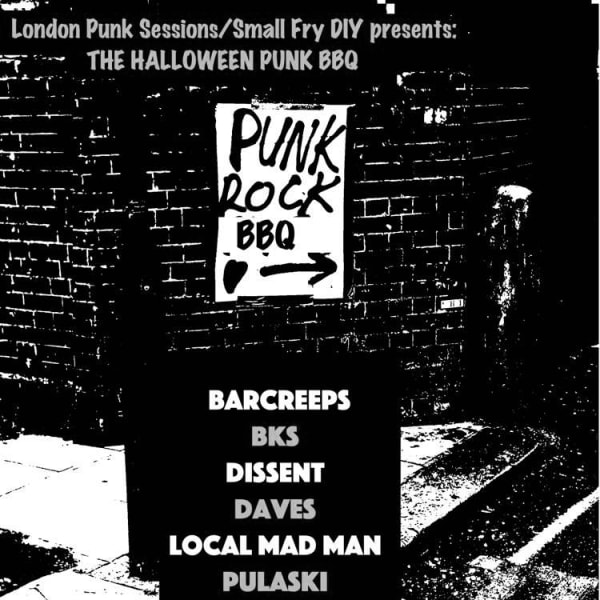 Punk Rock Halloween BBQ  at Windmill Brixton promotional image