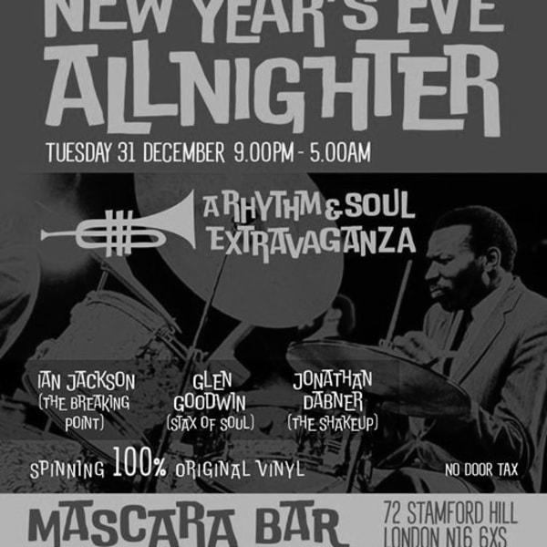 Steppin' Out NYE Allnighter! at Mascara Bar promotional image
