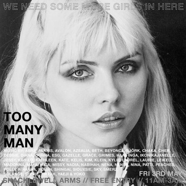 TOO MANY MAN #15 (Free Entry) at Shacklewell Arms promotional image