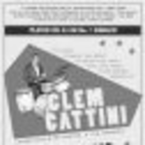 Clem Cattini+My Life Through The Eye Of A Tornado+Rock n Roll Book Club + Q & A+DJ Joe Geek at Dublin Castle promotional image