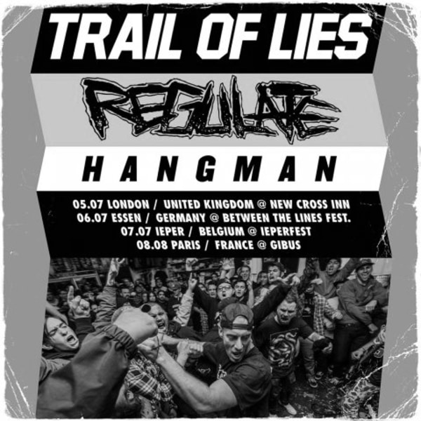Trail Of Lies at New Cross Inn promotional image