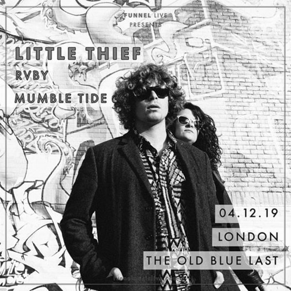 Funnel Live Presents • Little Thief • RVBY • Mumble Tide at The Old Blue Last promotional image