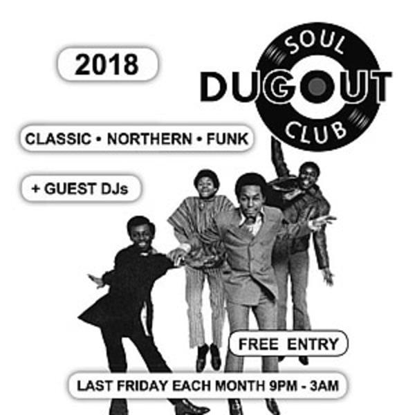 Dugout Soul Club - May 25th  at Mascara Bar promotional image